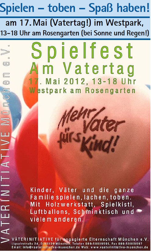 Vatertag_München 2012
