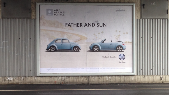 VW father and son