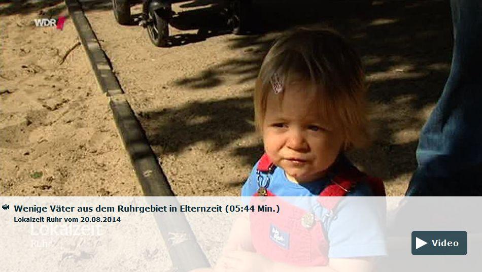 Lokalzeit Ruhr Weniger Väter in Elternzeit